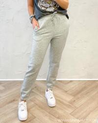 Pcchilli Light Grey Melange Sweat Pants