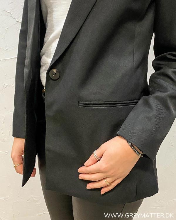 Vibrendy Black Blazer Jakke
