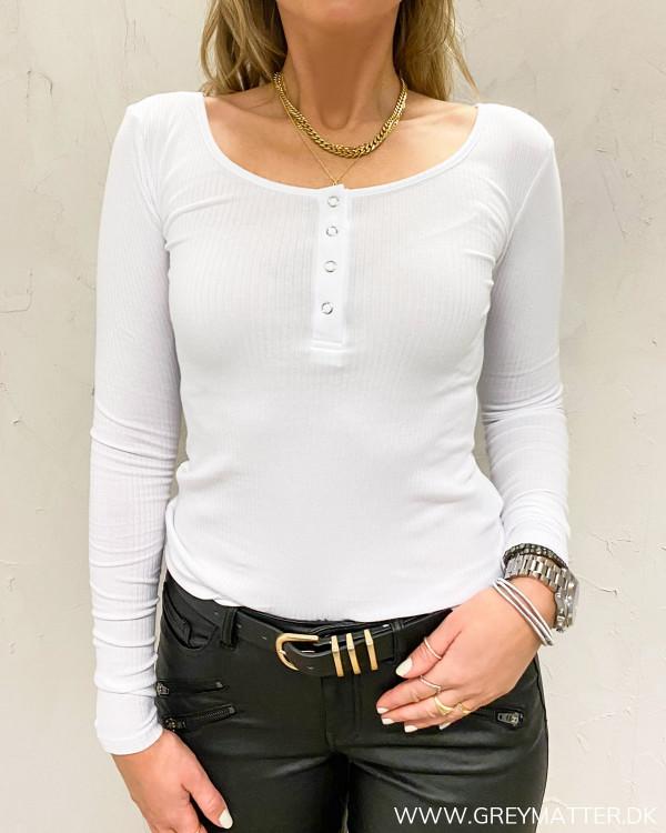 Pckitte bluse fra Pieces til damer