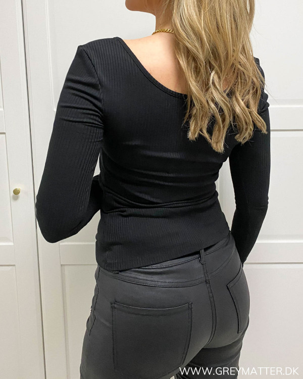 Pckitte Black Blouse