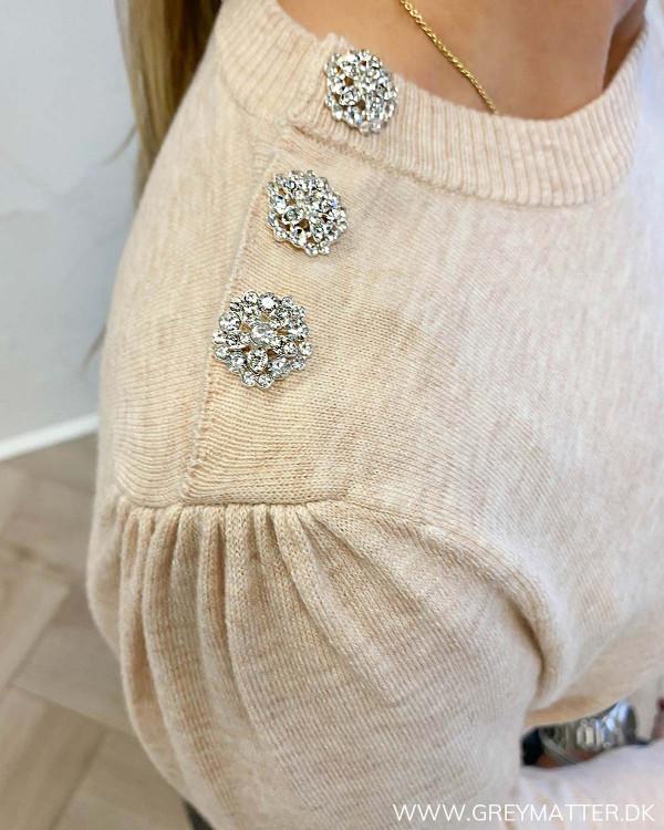 Neo Noir Giselle Diamond Sand Knit
