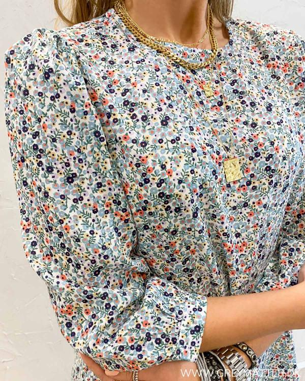Blomsterprint kjole fra Pieces