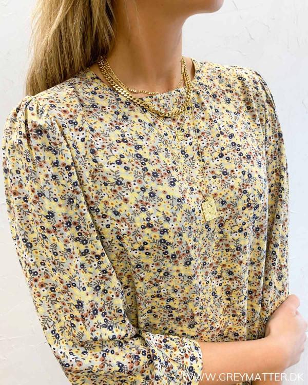 Blomster print kjole fra Pieces
