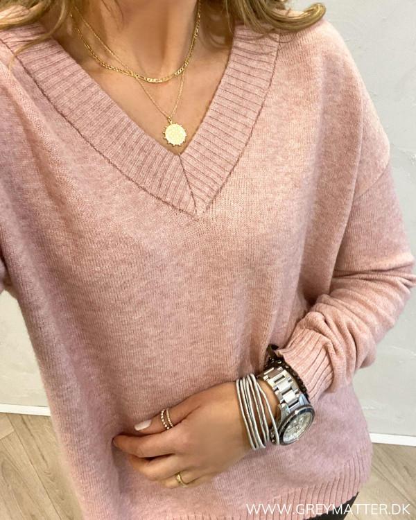 Viril Oversize Pale Mauve Knit