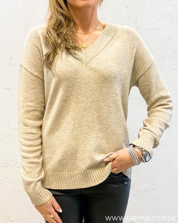 Viril Oversize Natural Melange Knit