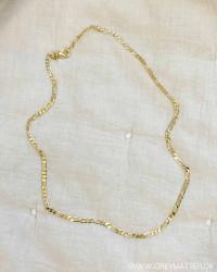Golden Light Panzer Necklace