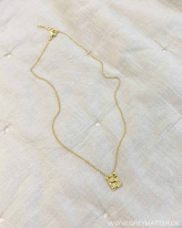 X-Small Golden Plated Necklace