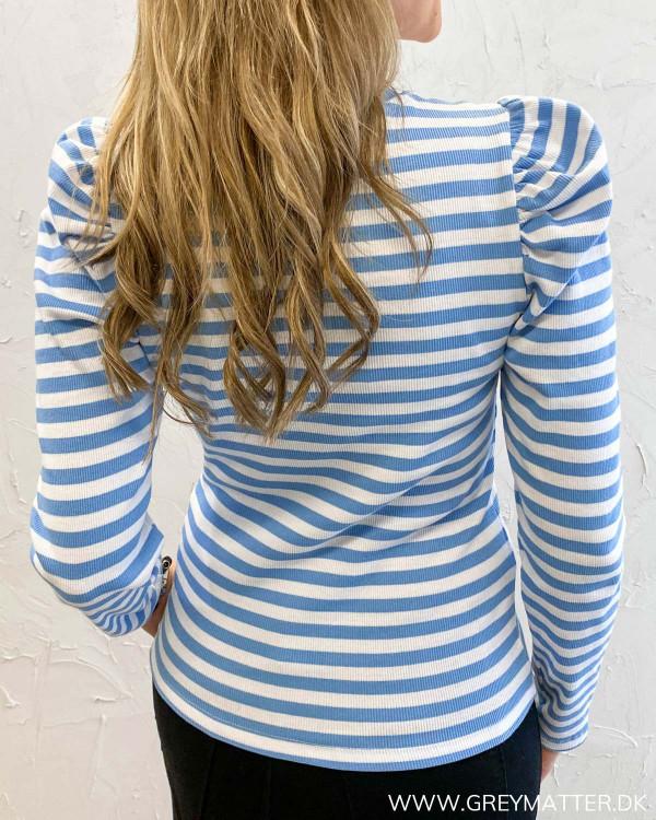 Pcanna Blue Striped Top