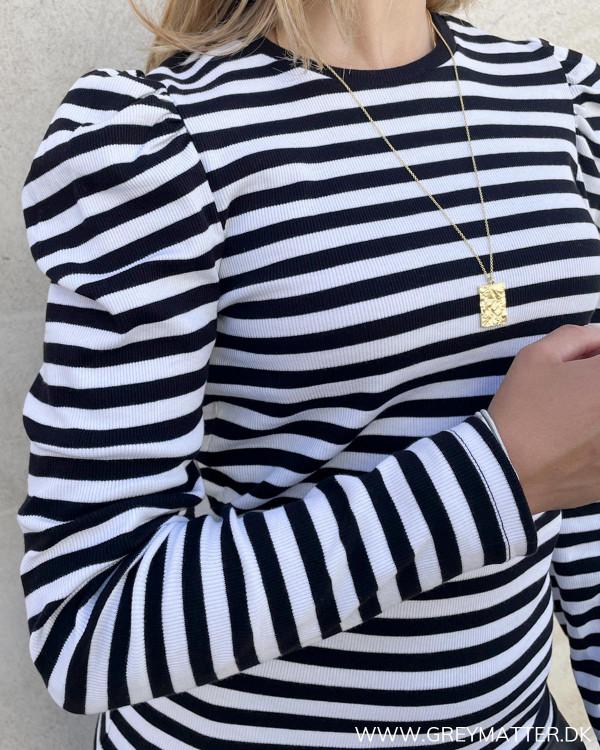 Pufærme bluse til damer