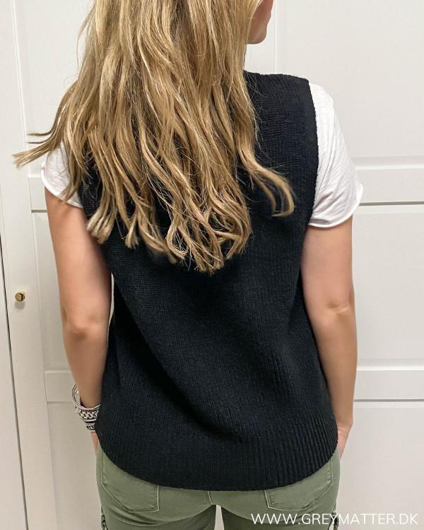 Onlparis Black Knit Vest