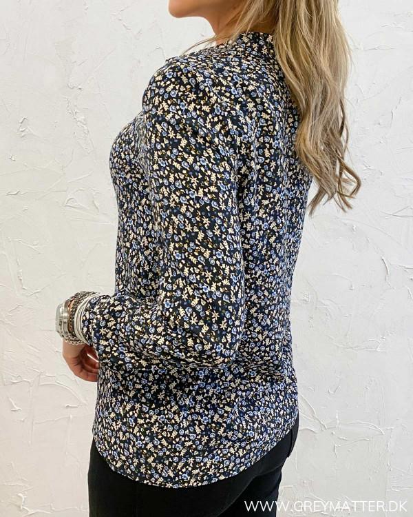 Vianma Black Flower Shirt
