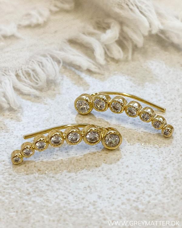 The Seven Dot Golden Earrings