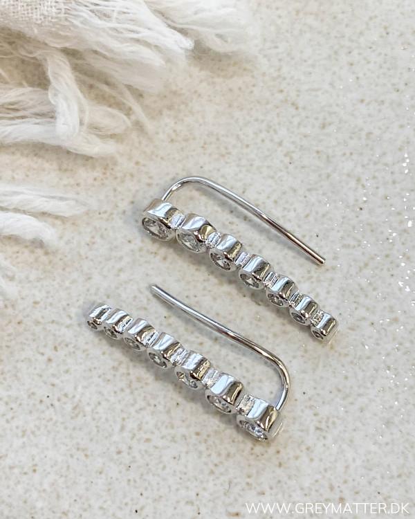 The Seven Dot Silver Earrings