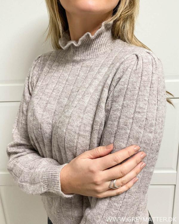 Pcgiana High Neck Knit