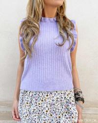 Pcsuna Orchid Bloom Knit Vest