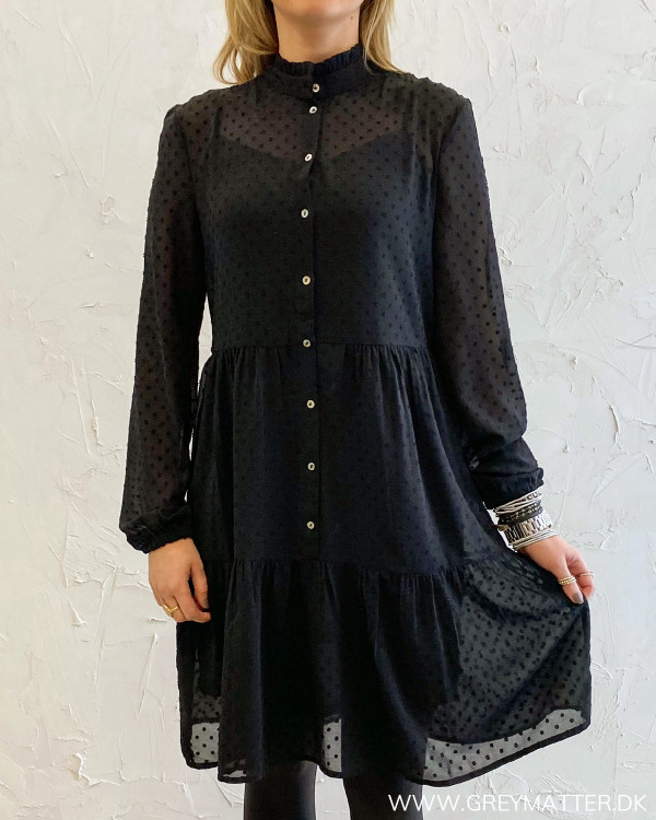 Onlmillie Black Dress