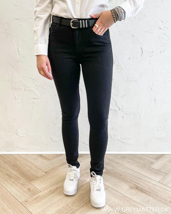 Pcmidfive Flex Black Jeans