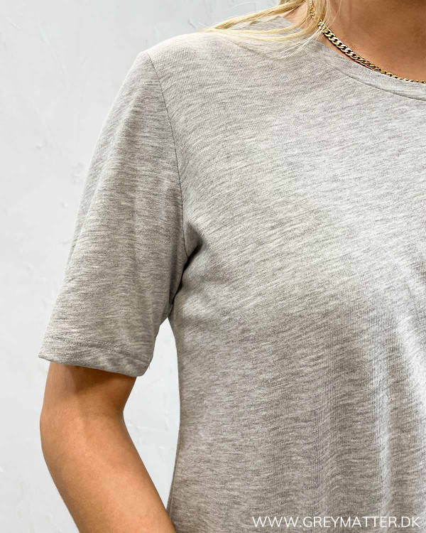 Onlonly Light Grey Melange T-Shirt
