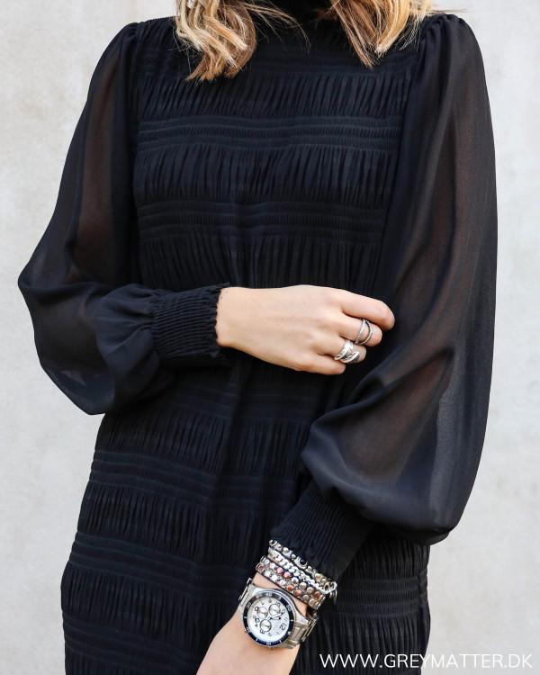 Vila Vimarbella Black Dress