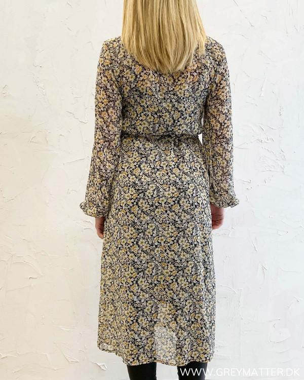 Viforally Black Flower Dress