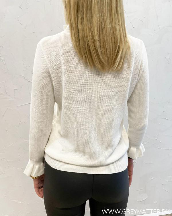 Vioalit O-Neck White Alyssum Knit