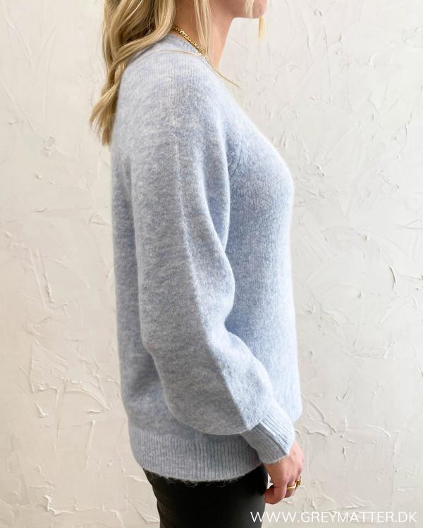 Vifunkla O-Neck Cashmere Blue Knit