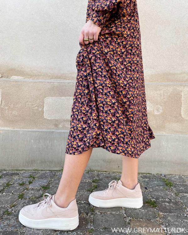Kjole med print fra Vila