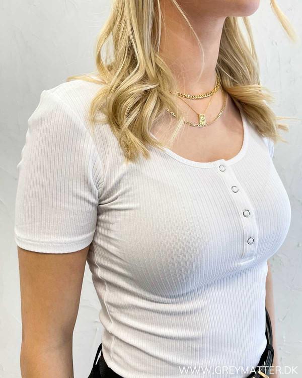 Pckitte Bright White S/S Top