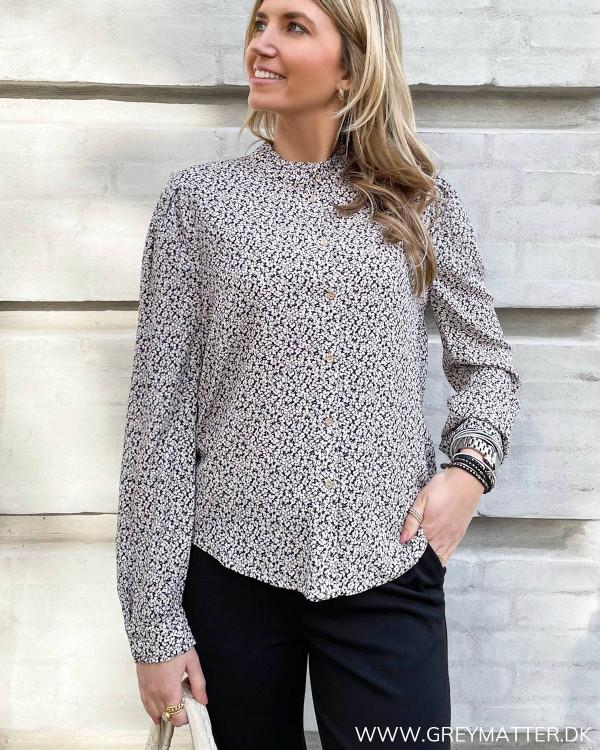 Smuk skjorte med print fra Vila