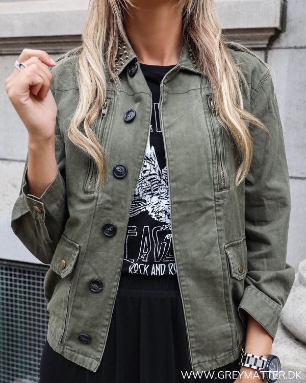 Raw Army Studs Jacket