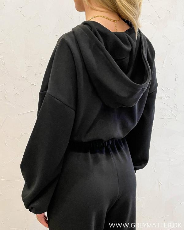 Onlscarlett Black Zip Hoodie