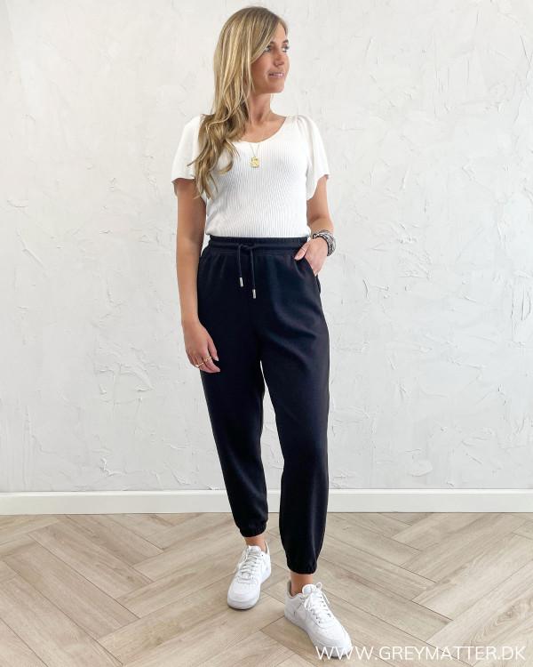 Dame bukser i sweat fra Only