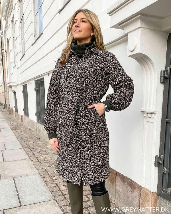 Flot quiltet frakke fra Vila til damer