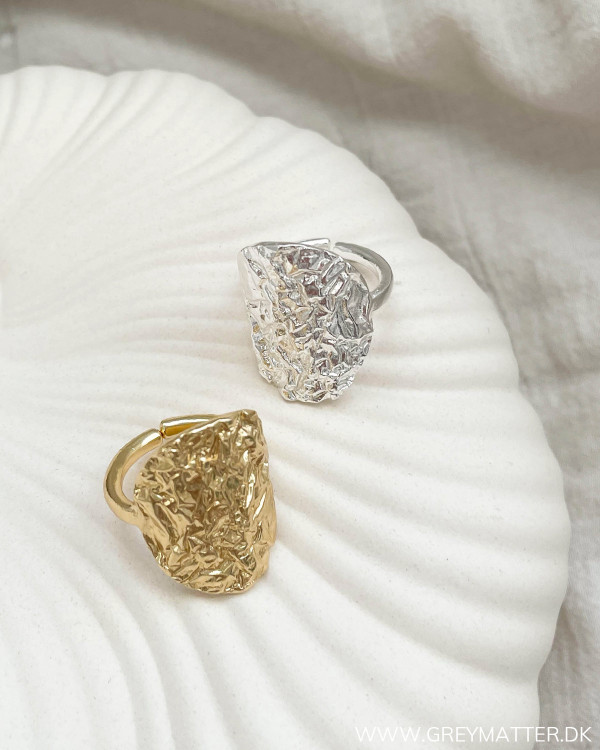 Golden Metalic Folie Ring