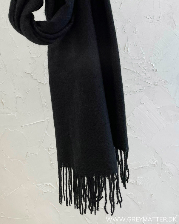 Pckial Black New Long Scarf
