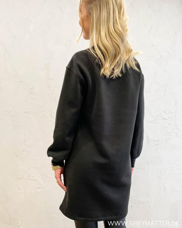 Pcchilli Black Long Sweat Dress