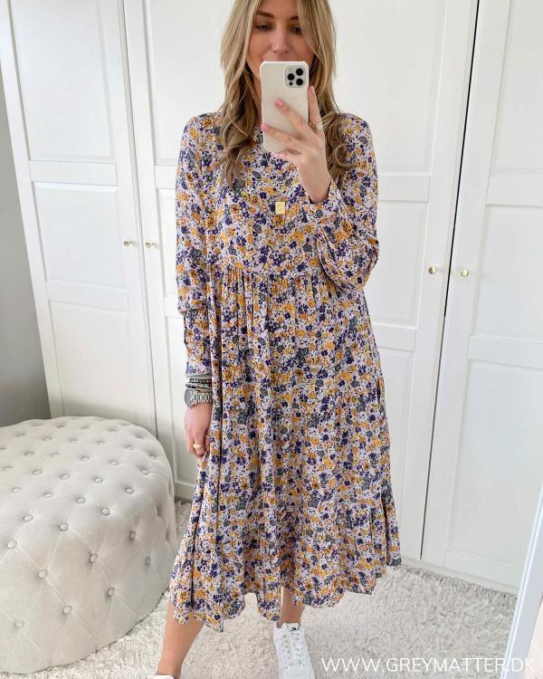 Pchullu Orchid Bloom Midi Dress