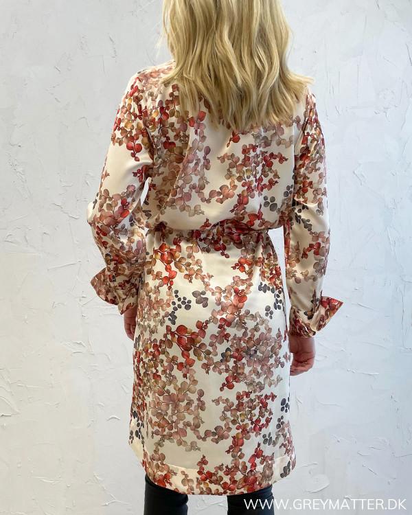 Nakita Melange Ivory Dress