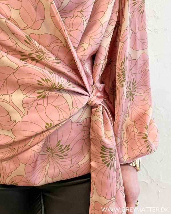 Ines Gardenia Blush Blouse