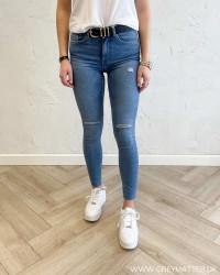 Pcmidfive Flex Light Blue Denim Jeans
