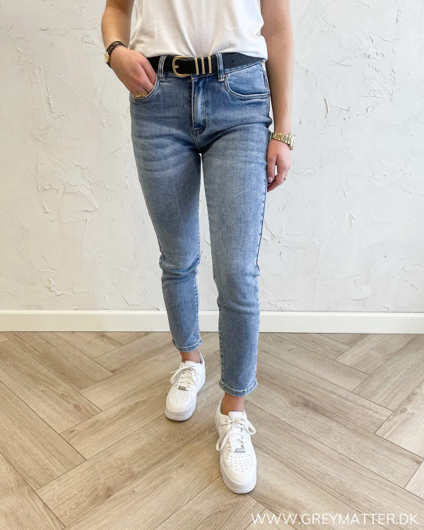 Jeans med stretch til damer
