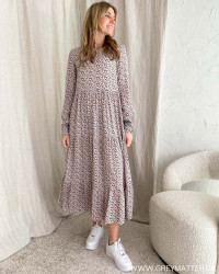 Pchina Confetti L/S Midi Dress
