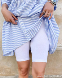 Onllove Life White Shorts