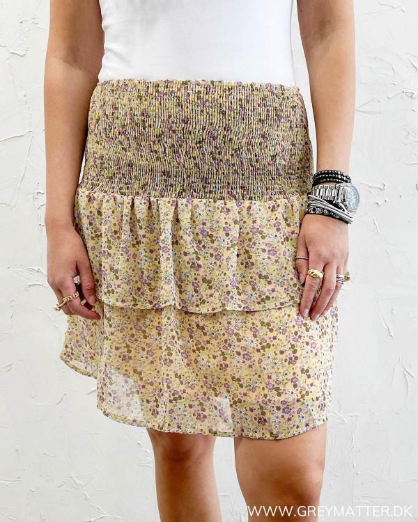 Nederdel fra Pieces med blomsterprint