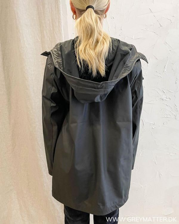 Onlellen Black Raincoat