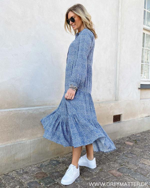Blå kjole med print fra Grey Matter