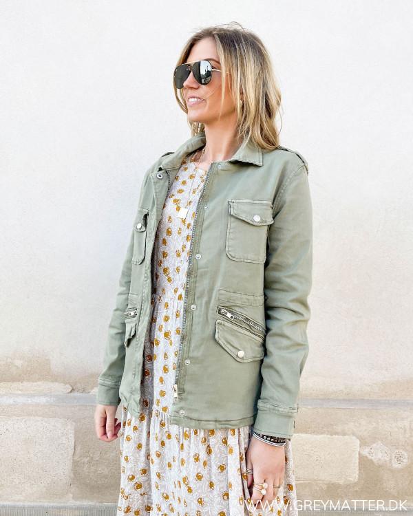 Rå army jakke fra Grey Matter Fashion