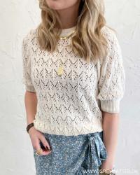 Pctayna Buttercream O-Neck Knit