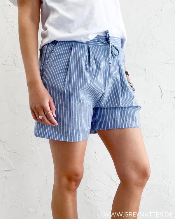 Stribede shorts til damer fra Vila