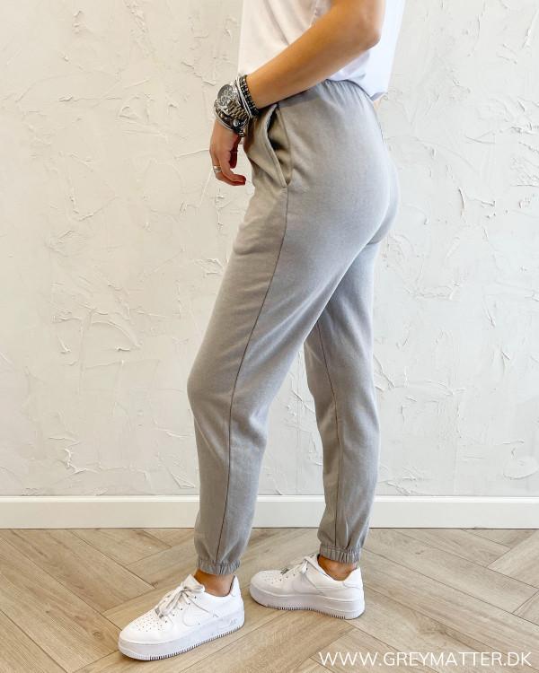 Jogging bukser til damer i light grey
